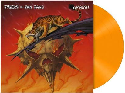 "Tygers Of Pan Tang ""Ambush LP ORANGE"""
